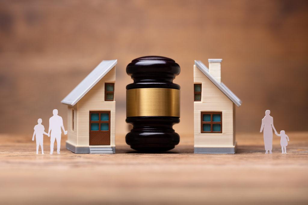 Verdeling huis na echtscheiding